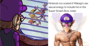 Nintendo too scared of Waluigi,