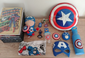 My personal Captain America items.